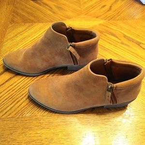 SM Faux Suede Booties